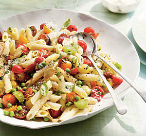 Penne-with-Herbs