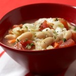 Cannelini and cabbage soup