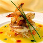 Crispy-Pan-Seared-Florida-Snapper-with-Passion-Fruit-Cream