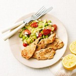 Lemon Thyme Chicken with sauteed Vegetables