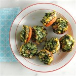 Mini Spinach Fritatas