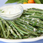 Parmesan-Roasted-Florida-Snap-Beans